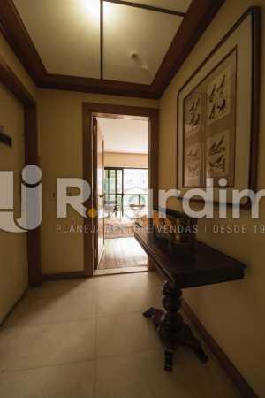 hall de entrada  - Compra Venda Avaliação Imóveis Apartamento Lagoa 4 Quartos - LAAP40734 - 4
