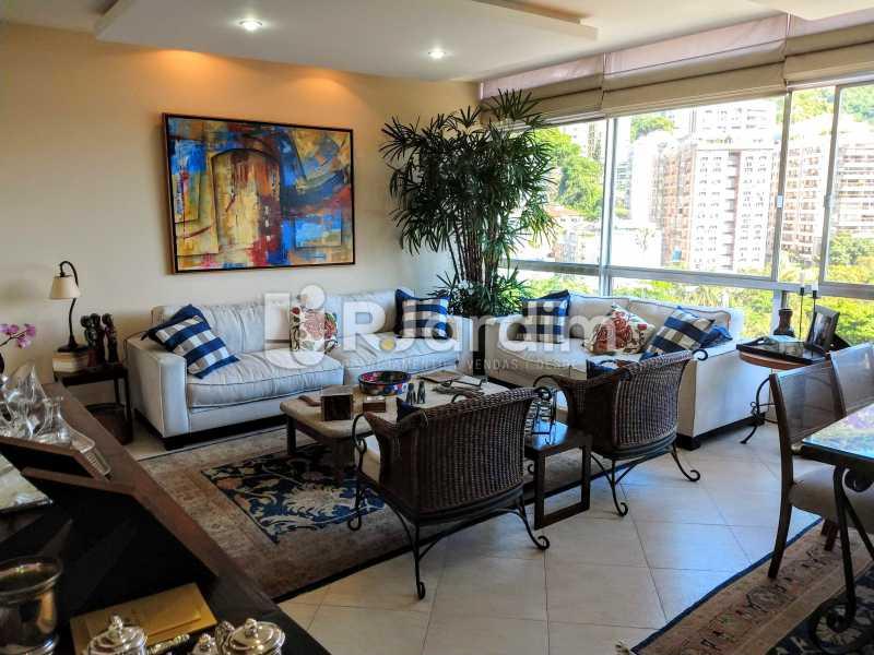 Sala - Compra Venda Avaliação Imóveis Apartamento Humaitá 3 Quartos - LAAP31951 - 1