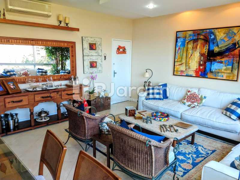 Sala - Compra Venda Avaliação Imóveis Apartamento Humaitá 3 Quartos - LAAP31951 - 5