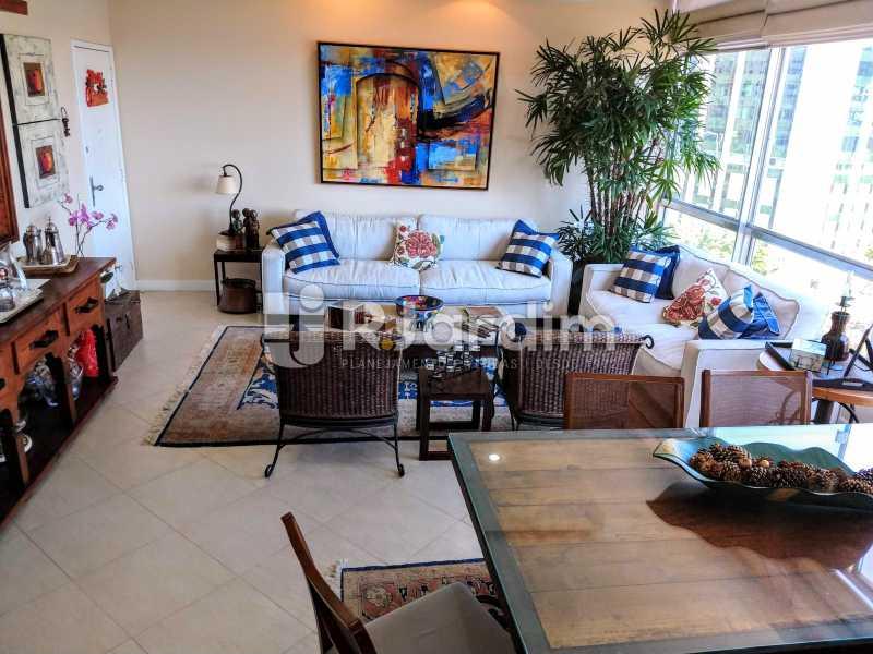 Sala - Compra Venda Avaliação Imóveis Apartamento Humaitá 3 Quartos - LAAP31951 - 6