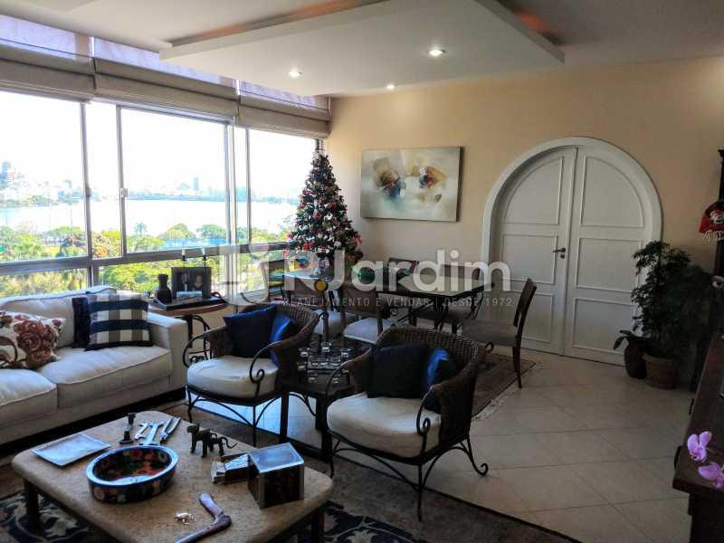 Sala - Compra Venda Avaliação Imóveis Apartamento Humaitá 3 Quartos - LAAP31951 - 8