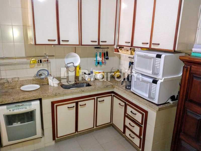 Cozinha - Compra Venda Avaliação Imóveis Apartamento Humaitá 3 Quartos - LAAP31951 - 28