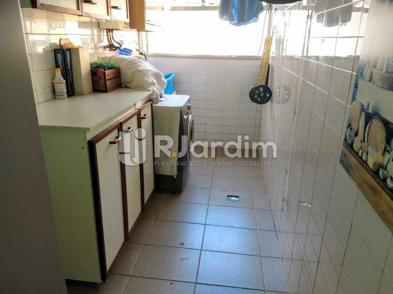 Área de Serviço - Compra Venda Avaliação Imóveis Apartamento Humaitá 3 Quartos - LAAP31951 - 29