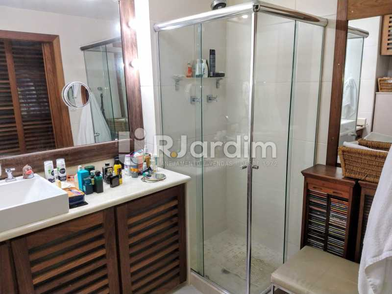 Banheiro Suíte - Compra Venda Avaliação Imóveis Apartamento Humaitá 3 Quartos - LAAP31951 - 23