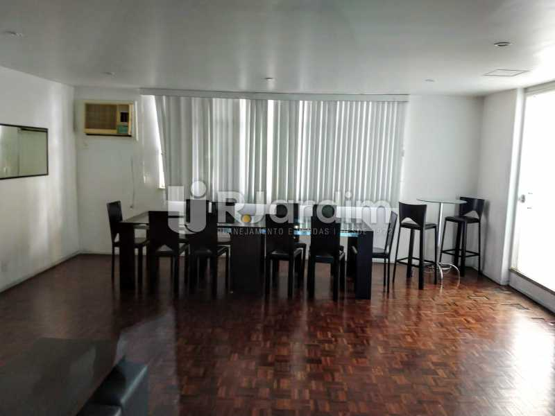 Salão de Festas - Compra Venda Avaliação Imóveis Apartamento Humaitá 3 Quartos - LAAP31951 - 30