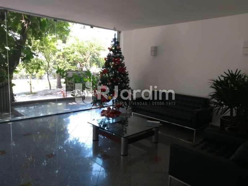 Hall Portaria - Apartamento Para Alugar - Lagoa - Rio de Janeiro - RJ - LAAP31963 - 19