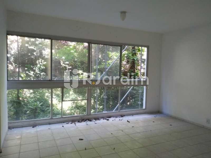 Salão piso ceramica - Apartamento Para Alugar - Lagoa - Rio de Janeiro - RJ - LAAP31963 - 18