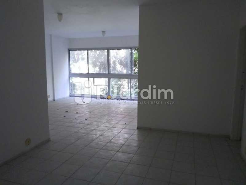 Salão 2 Ambientes - Apartamento Para Alugar - Lagoa - Rio de Janeiro - RJ - LAAP31963 - 3