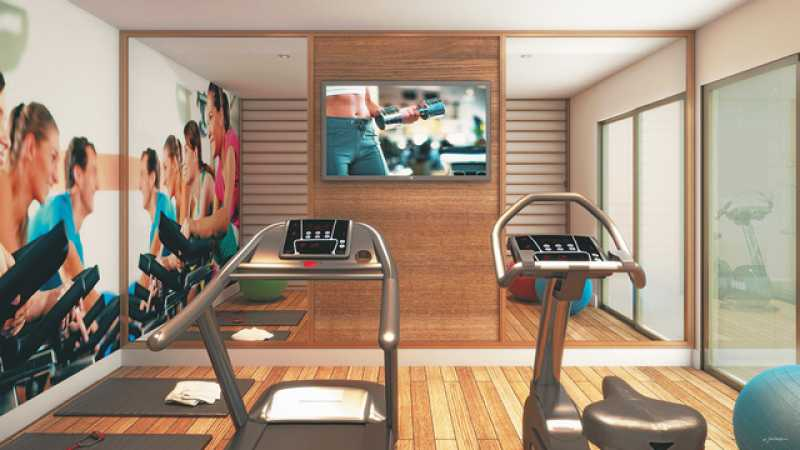 fitness - Apartamento 2 quartos à venda Andaraí, Zona Norte - Grande Tijuca,Rio de Janeiro - R$ 541.815 - LAAP21383 - 19
