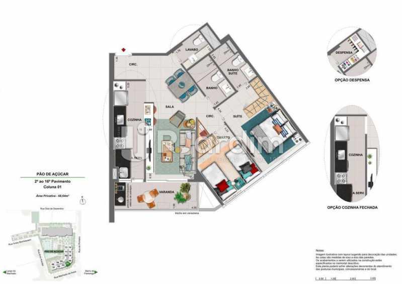 ICONO PARQUE - Apartamento 2 quartos à venda Flamengo, Zona Sul,Rio de Janeiro - R$ 1.145.900 - LAAP21385 - 9
