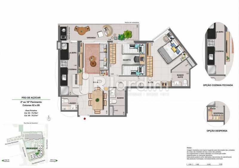 ICONO PARQUE - Apartamento 2 quartos à venda Flamengo, Zona Sul,Rio de Janeiro - R$ 1.145.900 - LAAP21385 - 10