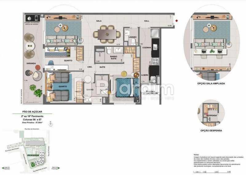 ICONO PARQUE - Apartamento 2 quartos à venda Flamengo, Zona Sul,Rio de Janeiro - R$ 1.145.900 - LAAP21385 - 11