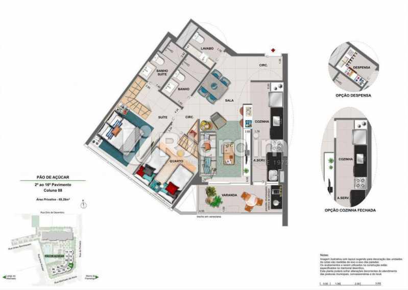 ICONO PARQUE - Apartamento 2 quartos à venda Flamengo, Zona Sul,Rio de Janeiro - R$ 1.145.900 - LAAP21385 - 12