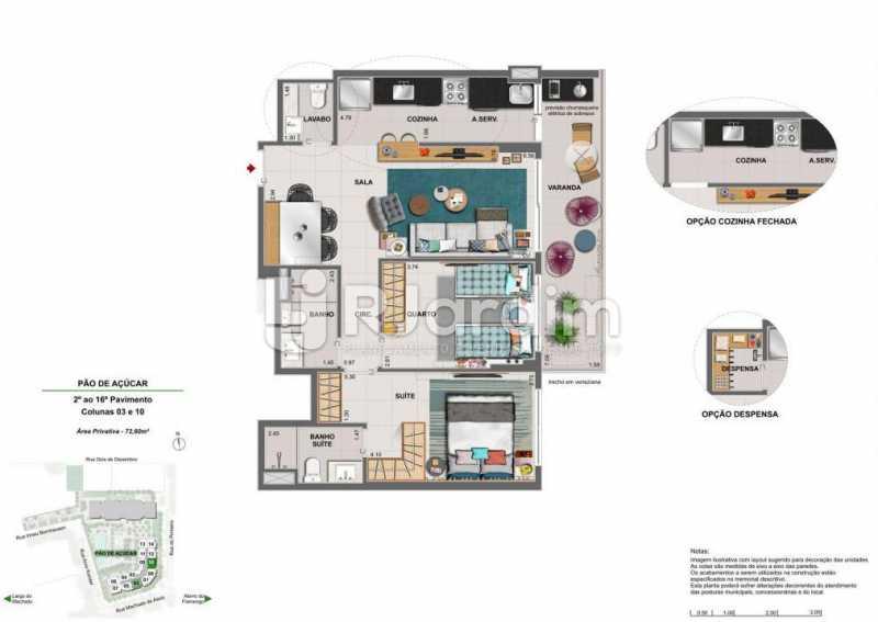 ICONO PARQUE - Apartamento 2 quartos à venda Flamengo, Zona Sul,Rio de Janeiro - R$ 1.145.900 - LAAP21385 - 13