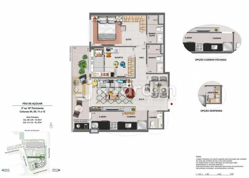ICONO PARQUE - Apartamento 2 quartos à venda Flamengo, Zona Sul,Rio de Janeiro - R$ 1.145.900 - LAAP21385 - 14