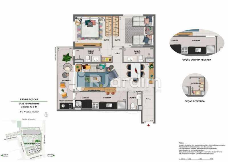 ICONO PARQUE - Apartamento 2 quartos à venda Flamengo, Zona Sul,Rio de Janeiro - R$ 1.145.900 - LAAP21385 - 15