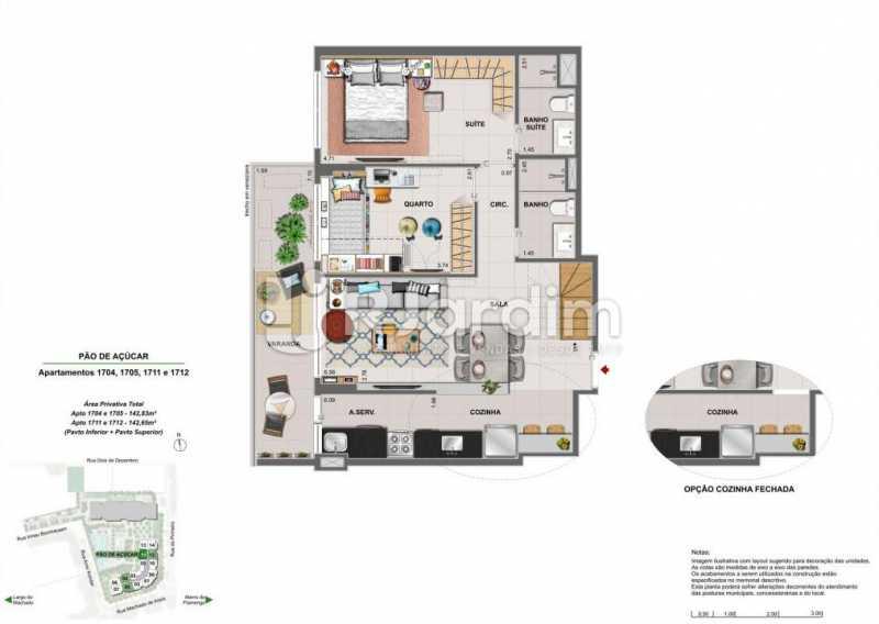 ICONO PARQUE - Apartamento 2 quartos à venda Flamengo, Zona Sul,Rio de Janeiro - R$ 1.145.900 - LAAP21385 - 24