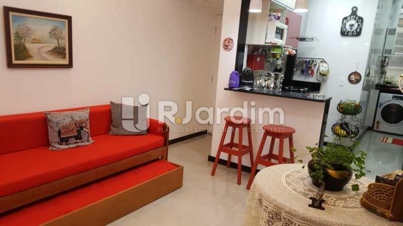 Sala - Apartamento Copacabana 1 Quarto Aluguel Administração Imóveis - LAAP10339 - 1