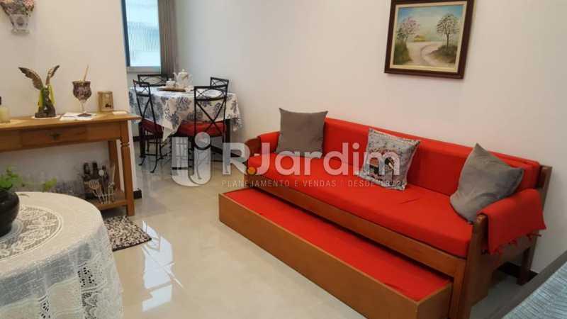 Sala - Apartamento Copacabana 1 Quarto Aluguel Administração Imóveis - LAAP10339 - 3