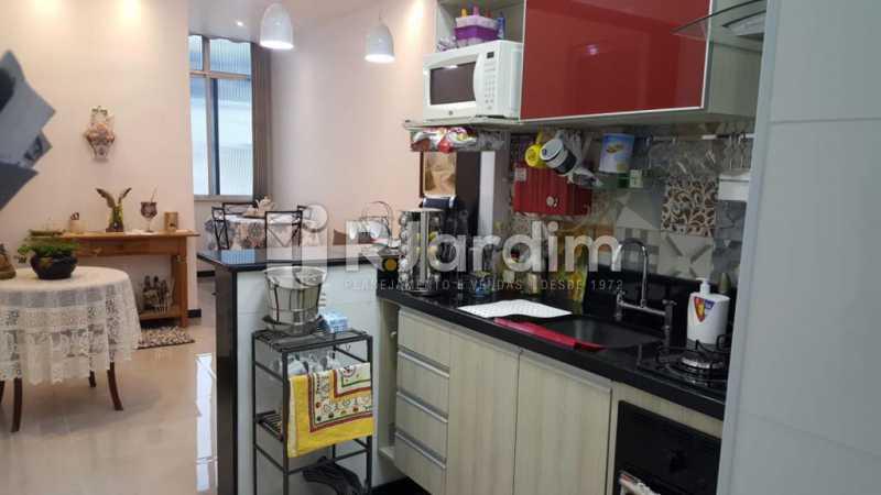 Cozinha Americana - Apartamento Copacabana 1 Quarto Aluguel Administração Imóveis - LAAP10339 - 15