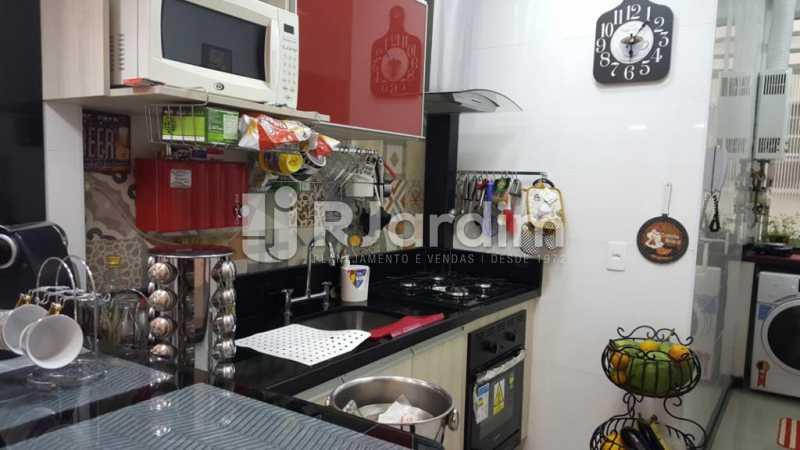 Cozinha Planejada - Apartamento Copacabana 1 Quarto Aluguel Administração Imóveis - LAAP10339 - 16
