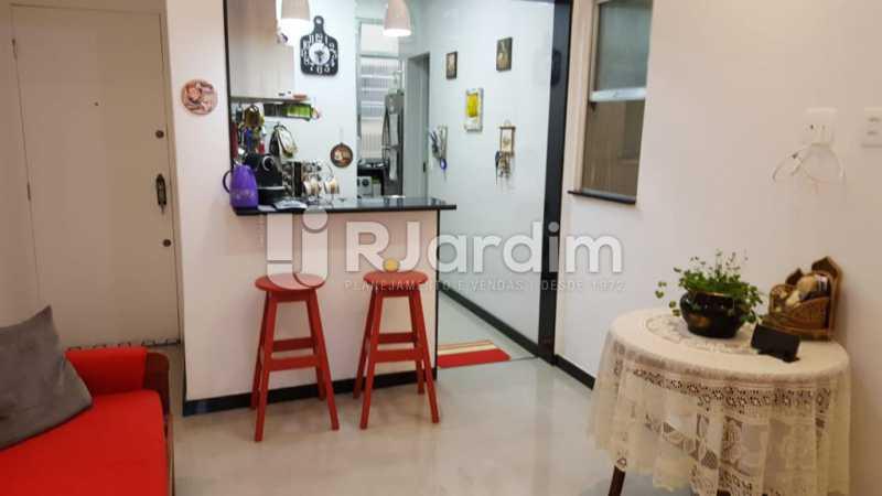 Sala - Apartamento Copacabana 1 Quarto Aluguel Administração Imóveis - LAAP10339 - 6
