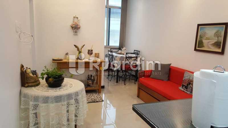 Sala - Apartamento Copacabana 1 Quarto Aluguel Administração Imóveis - LAAP10339 - 7
