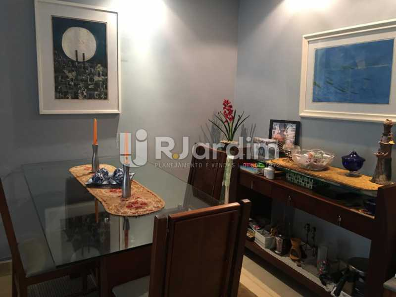 Sala - Apartamento À Venda - Humaitá - Rio de Janeiro - RJ - LAAP21387 - 3