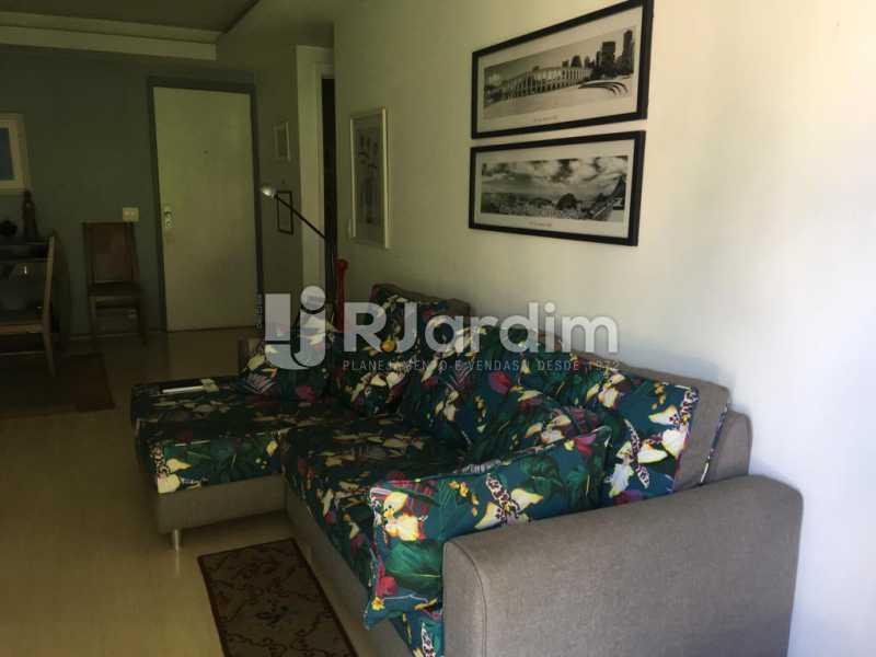 Sala - Apartamento À Venda - Humaitá - Rio de Janeiro - RJ - LAAP21387 - 4