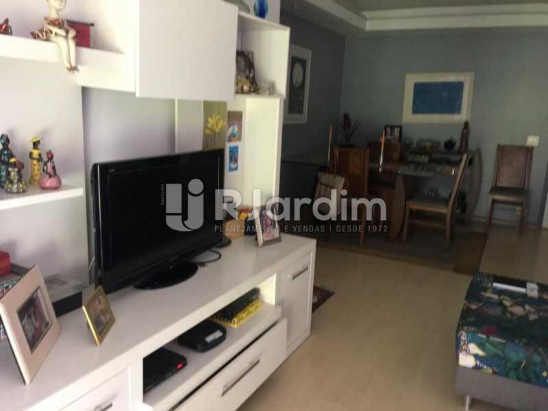 Sala - Apartamento À Venda - Humaitá - Rio de Janeiro - RJ - LAAP21387 - 5