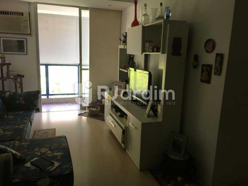 Sala - Apartamento À Venda - Humaitá - Rio de Janeiro - RJ - LAAP21387 - 6