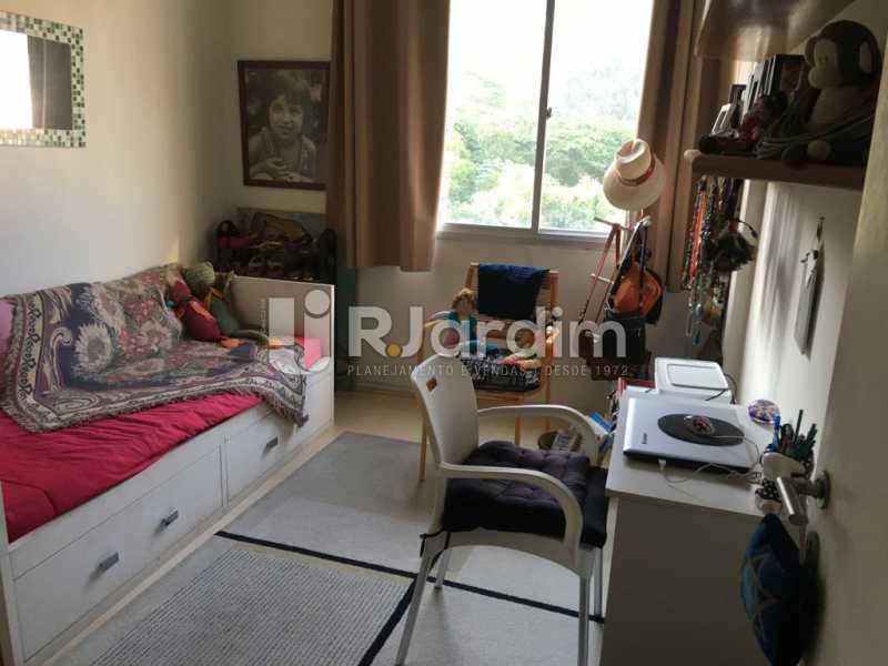 Quarto - Apartamento À Venda - Humaitá - Rio de Janeiro - RJ - LAAP21387 - 10