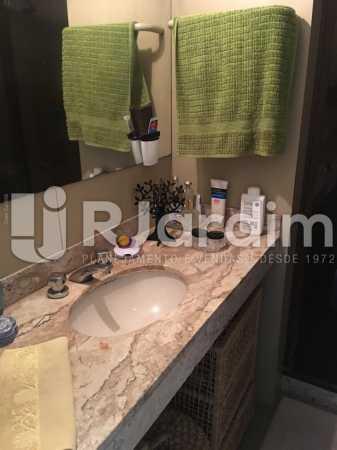 Banheiro social - Apartamento À Venda - Humaitá - Rio de Janeiro - RJ - LAAP21387 - 12