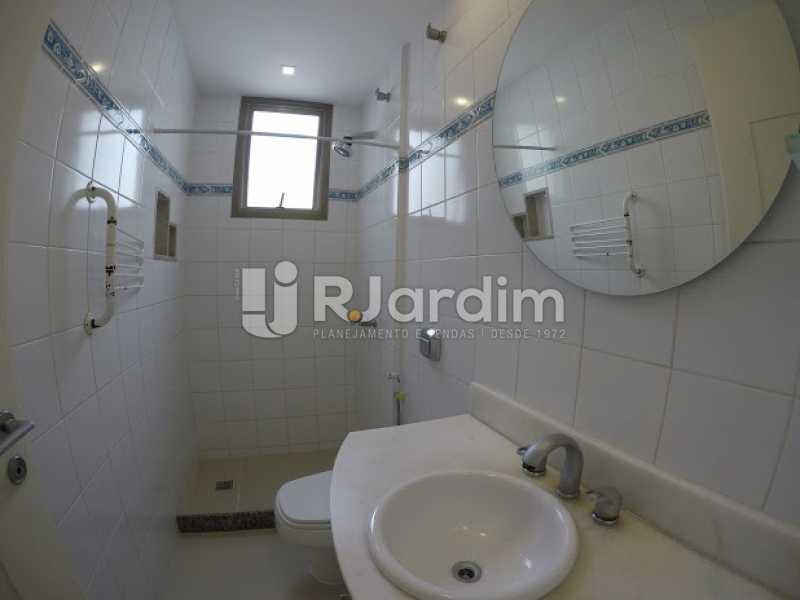 Banheiro Suíte - Aluguel Administração Imóveis Cobertura Leblon 4 Quartos - LACO40171 - 10