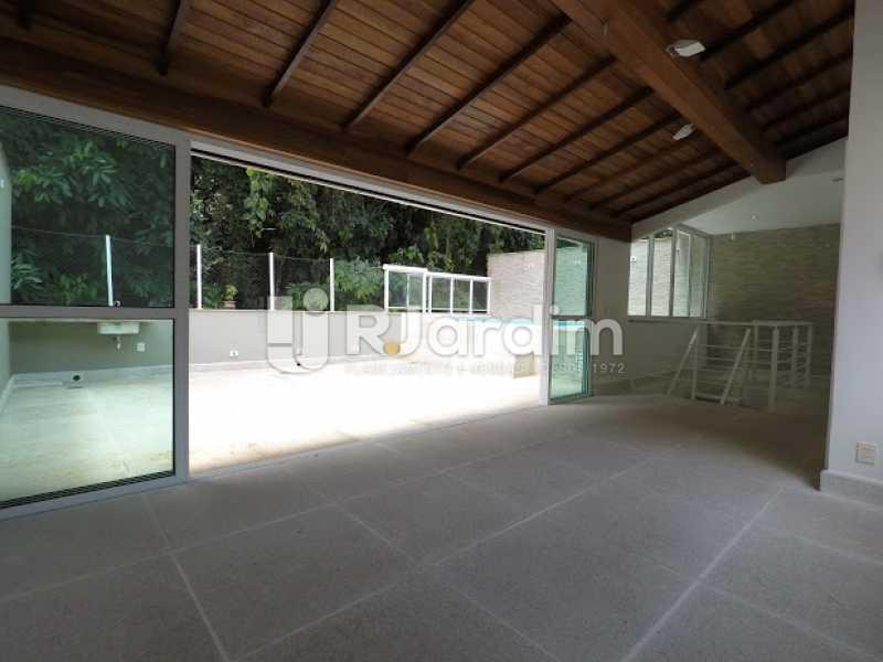 Sala terraço - Aluguel Administração Imóveis Cobertura Leblon 4 Quartos - LACO40171 - 23