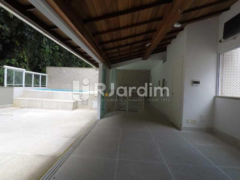 Sala terraço - Aluguel Administração Imóveis Cobertura Leblon 4 Quartos - LACO40171 - 26