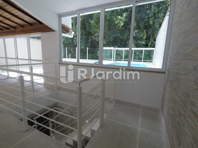 Sala terraço - Aluguel Administração Imóveis Cobertura Leblon 4 Quartos - LACO40171 - 22