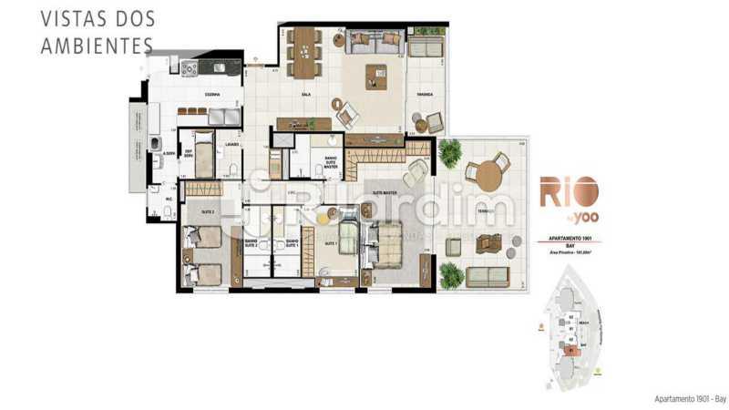 RIO BY YOO - Apartamento À Venda - Flamengo - Rio de Janeiro - RJ - LAAP31972 - 16