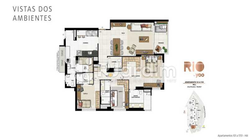 RIO BY YOO - Apartamento À Venda - Flamengo - Rio de Janeiro - RJ - LAAP31972 - 17