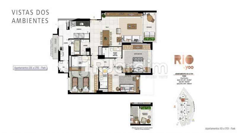 RIO BY YOO - Apartamento À Venda - Flamengo - Rio de Janeiro - RJ - LAAP31972 - 18