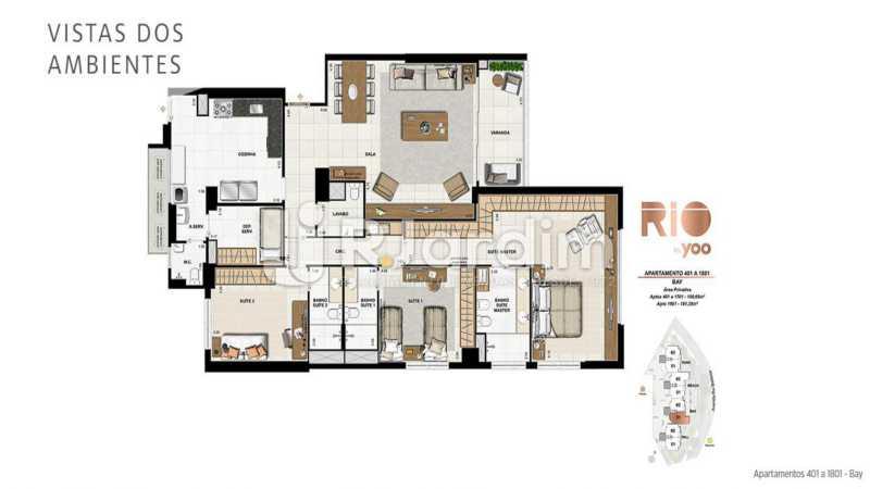 RIO BY YOO - Apartamento À Venda - Flamengo - Rio de Janeiro - RJ - LAAP31972 - 21