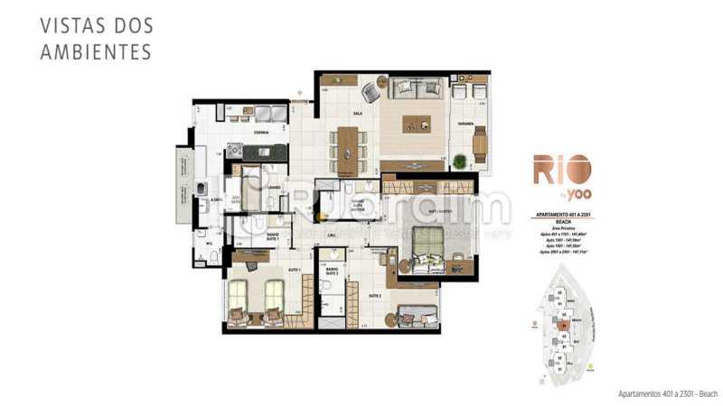 RIO BY YOO - Apartamento À Venda - Flamengo - Rio de Janeiro - RJ - LAAP31972 - 22