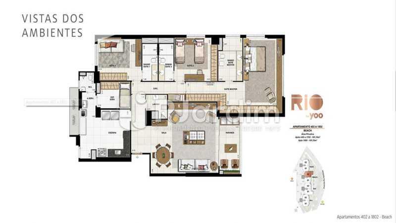 RIO BY YOO - Apartamento À Venda - Flamengo - Rio de Janeiro - RJ - LAAP31972 - 23