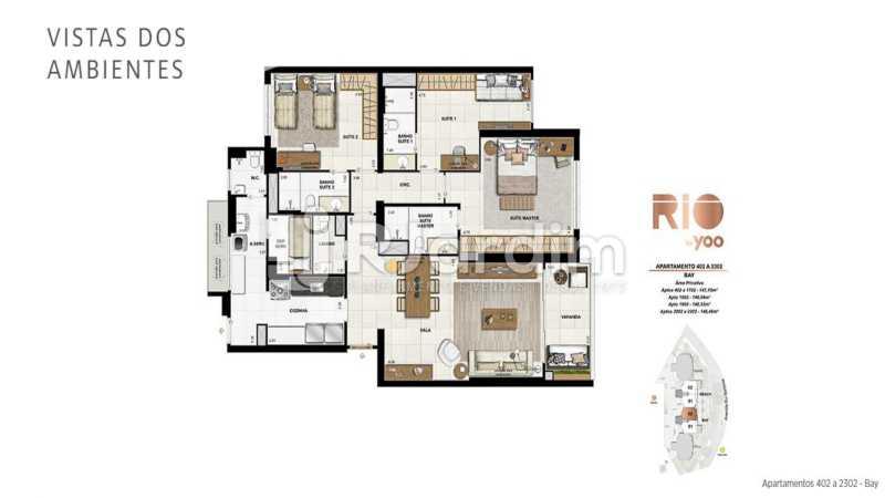 RIO BY YOO - Apartamento À Venda - Flamengo - Rio de Janeiro - RJ - LAAP31972 - 24