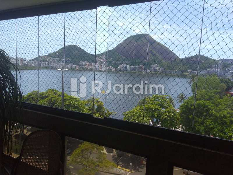 Vista - Aluguel Administração Imóveis Apartamento Duplex Lagoa 4 Quartos - LAAP32015 - 3