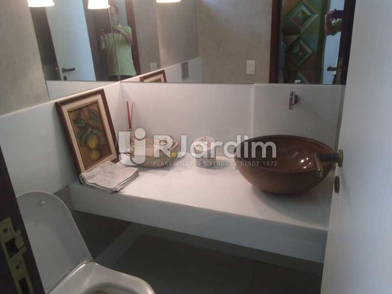 Lavabo - Aluguel Administração Imóveis Apartamento Duplex Lagoa 4 Quartos - LAAP32015 - 10