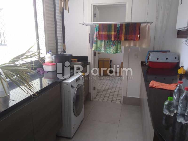 Cozinha  - Aluguel Administração Imóveis Apartamento Duplex Lagoa 4 Quartos - LAAP32015 - 20