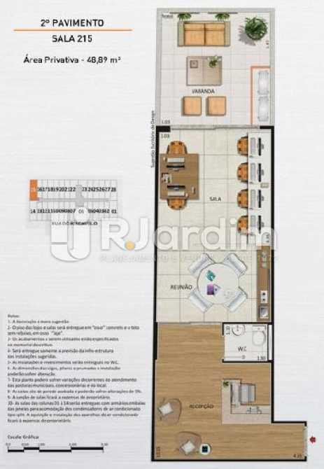 SALA 215 - Loja comercial À venda, Centro, Rio de Janeiro. - LALJ00127 - 13