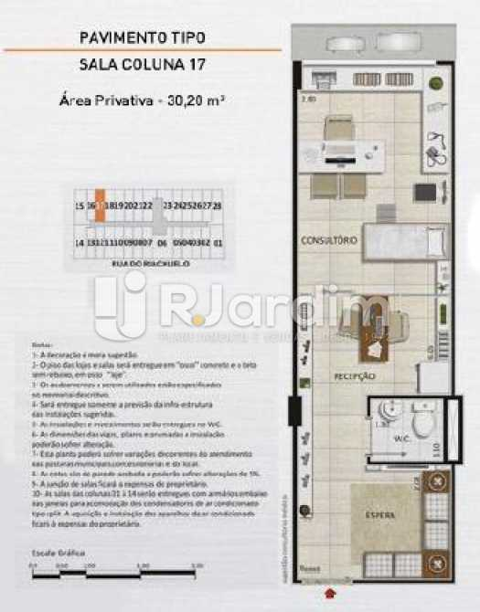 SALA COLUNA 17 - Loja comercial À venda, Centro, Rio de Janeiro. - LALJ00127 - 15