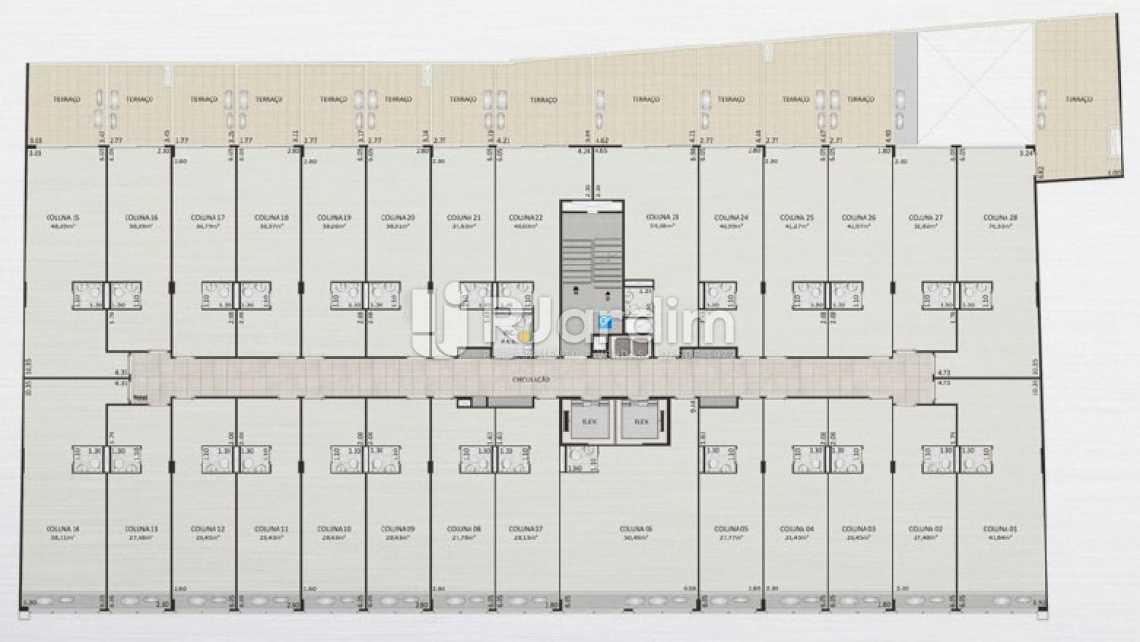 SALAS 2 PAVIMENTO - Loja comercial À venda, Centro, Rio de Janeiro. - LALJ00127 - 16